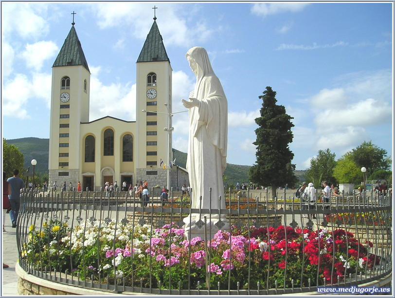 Medjugorje Statue of Queen of Peace